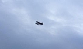 The Hercules spotted over Dundee