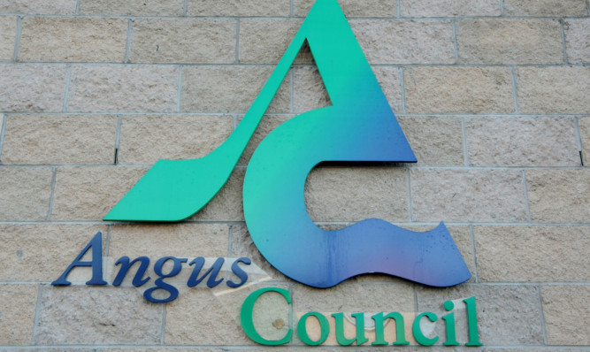 Kim Cessford, Courier - 05.02.12 - FOR FILE - pictured is the Angus Council logo