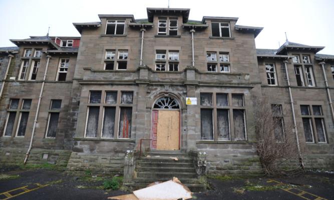 The former Strathmartine Hospital.