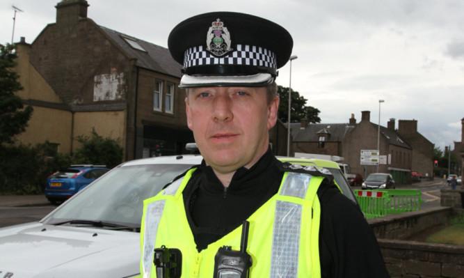 Chief Inspector Gordon Milne.