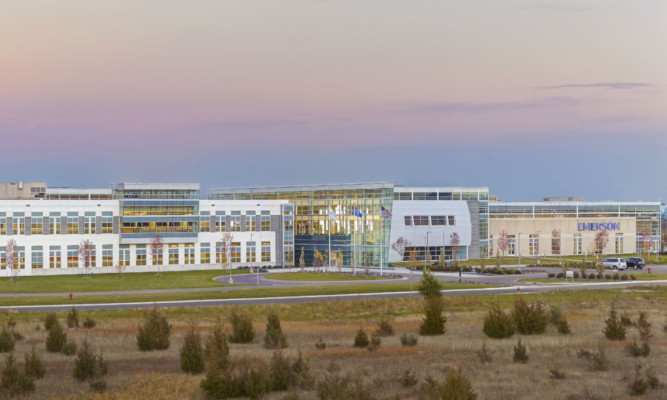 Emerson's new global headquarters for its Rosemount division