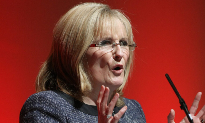 Margaret Curran as the Scottish Labour Party conference in Dundee last year.