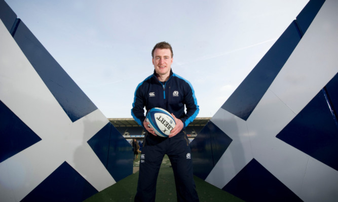 Scotland star Stuart Hogg.
