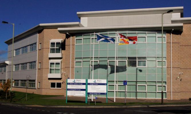 Angus Council headquarters at Orchardbank, Forfar.