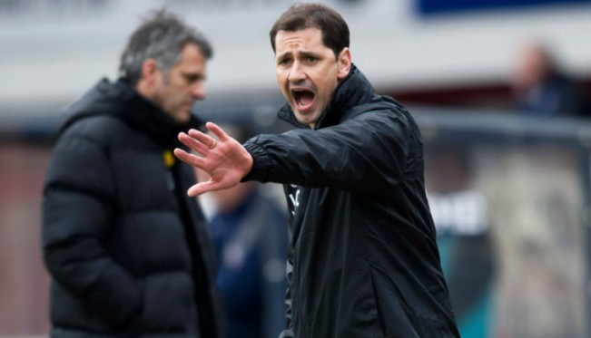 Jackie McNamara has endured a season to forget.