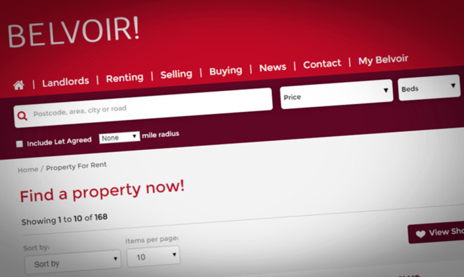 The owner of Belvoir in Perth Harry Coates believes any rise in rent levels will remain below the rate of inflation.
