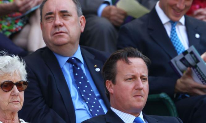 Alex Salmond feels David Cameron has treated Scotland with contempt.
