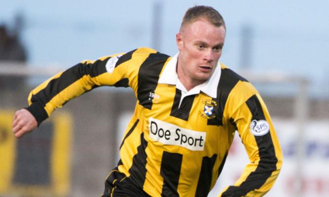 East Fife's Jon McShane