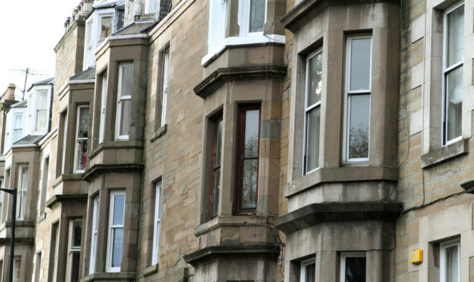 Figures show rents are rising faster in Scotland than elsewhere in the UK.
