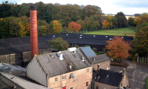 Glencadam Distillery. Turnover and pre-tax profits were down at Angus Dundee Distillers.