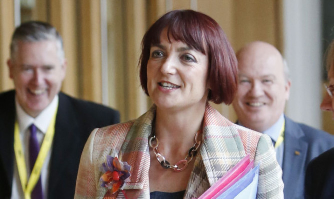 Education minister Angela Constance.