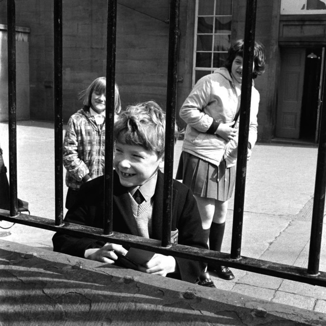 A collection of photographs taken in Dundee over the course of a single month in 1968 form the basis of an acclaimed exhibition that opens at Dundee University on January 16. Phil Thomson took the collection of 22 black and white pictures during November that year, when he was an art student at Duncan of Jordanstone. Phil will be launching the full exhibition with a free talk about the work at the Darcy Thompson Lecture Theatre, University of Dundee, at 5.30pm on January 16. Entry is free and open to all and there is no need to book in advance.
