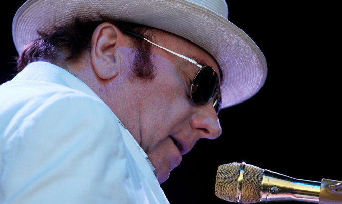 Van Morrison will perform at the Perth Concert Hall.