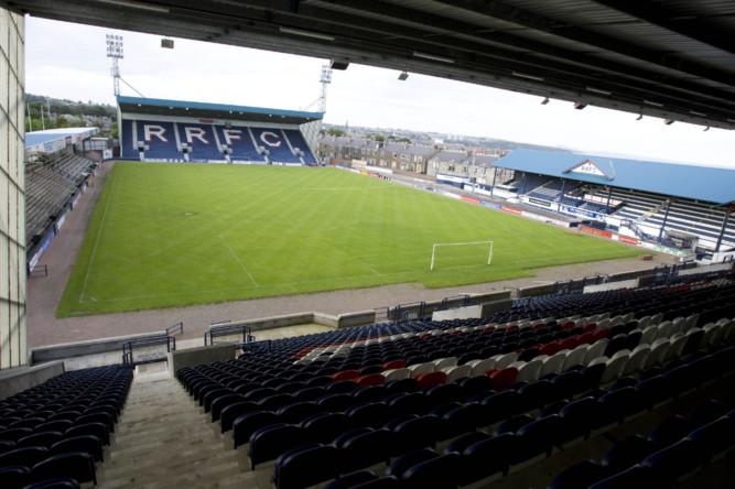 Stark's Park, home of Raith Rovers F.C