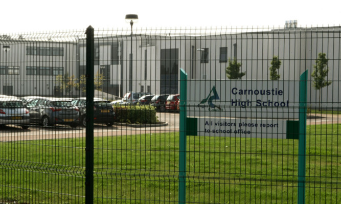 The pool at Carnoustie High School will no longer be open to the public.