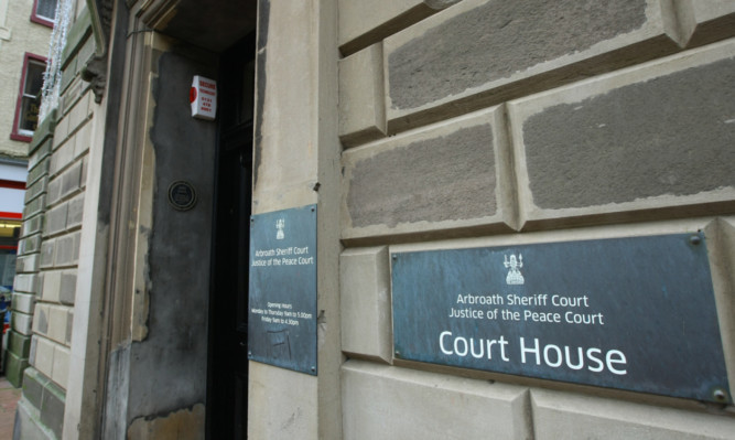Neil Campbell was fined and banned from driving for a year at Arbroath Sheriff Court.