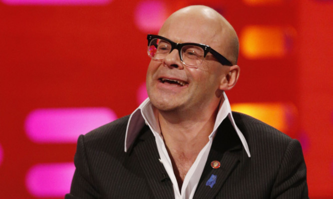 Harry Hill's comedy is popular with Perth prisoners.