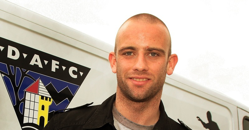 Homecoming Scottish Cup Semi-Final Preview.  Dunfermline FC player Graham Bayne.