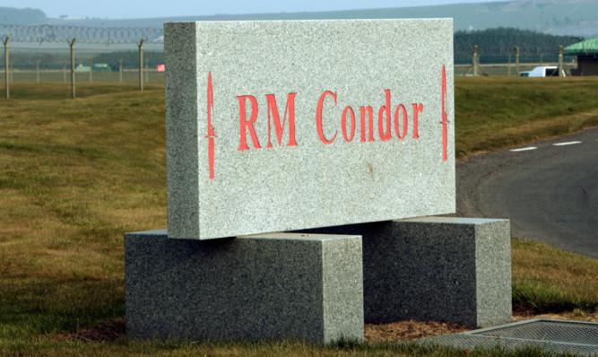 Mr McLeod said sub-standard food was served to marines at RM Condor.
