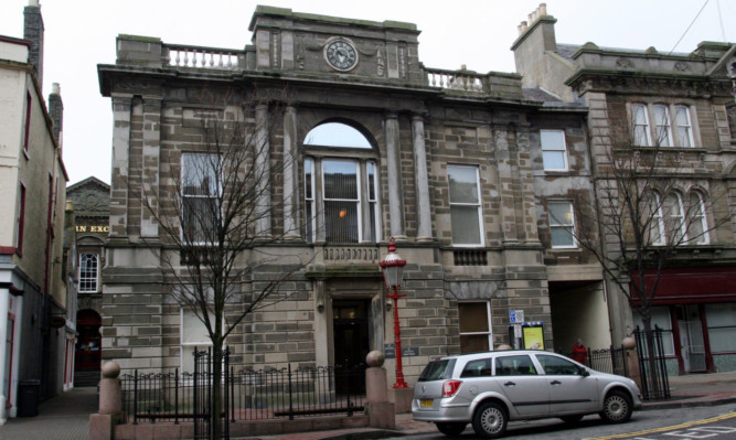 Feeney was sentenced to 150 hours community service at Arbroath Sheriff Court.