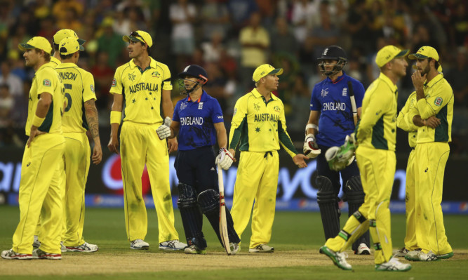 England looked out of their depth against the Aussies.