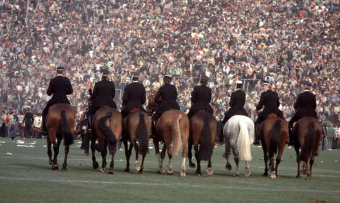 Shameful scenes at the 1980 Scottish Cup final led to the national booze ban.