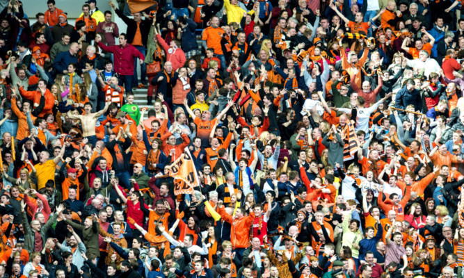Dundee Utd fans are looking forward to seeing their team in another showpiece final.
