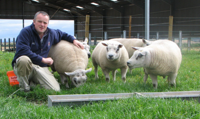 John Scott of Easter Ross is urging a focus on lifting profitability by improving the factors farmers can control, such as raising scanning percentages and reducing lamb losses or winter feed bills.