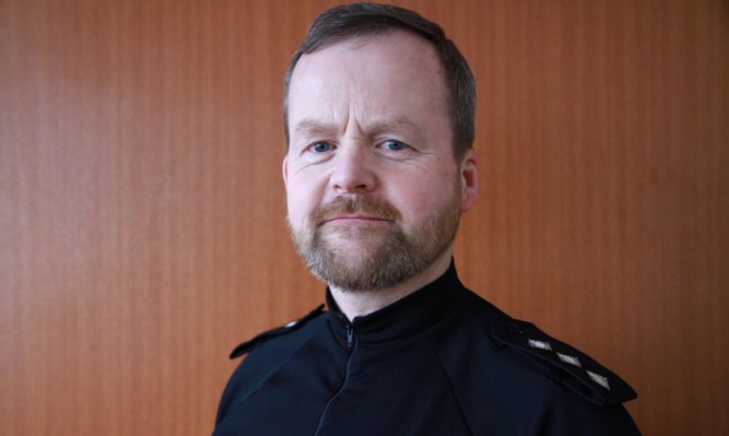 Chief Inspector Mike Whitford.