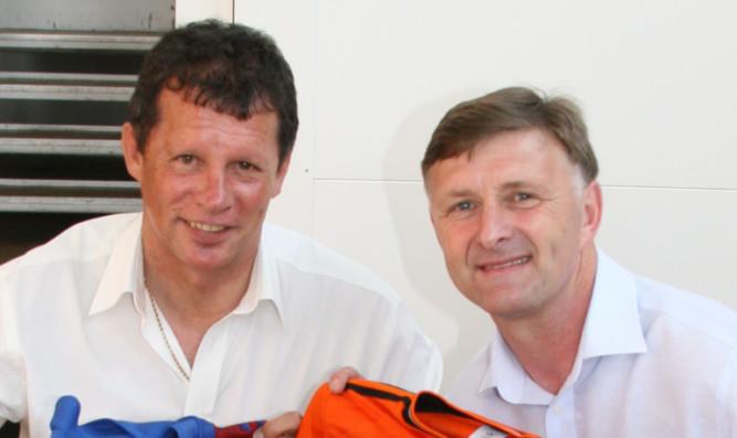 John Holt (left) and Paul Hegarty.