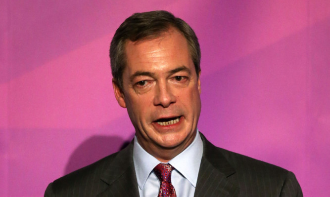Ukip leader Nigel Farage will not appear at the party's general election campaign launch in Scotland in person.