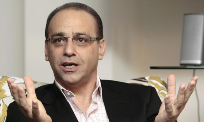 Dragons Den star Theo Paphitis.