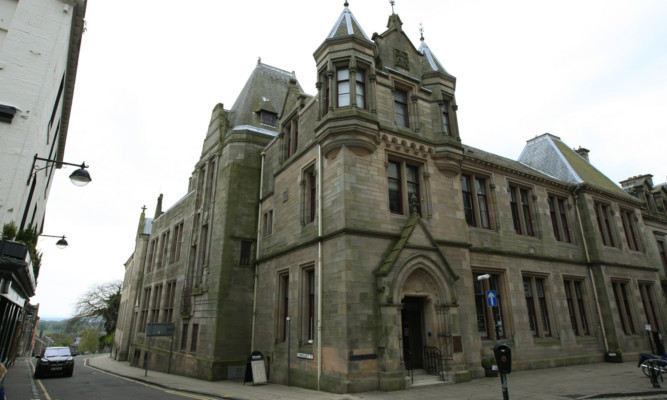 The Carnegie Library in Dunfermline is one of many throughout Fife under threat of cuts.