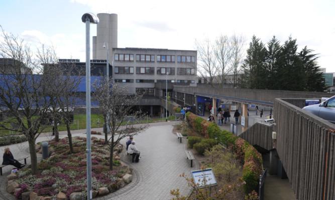 Ninewells Hospital.