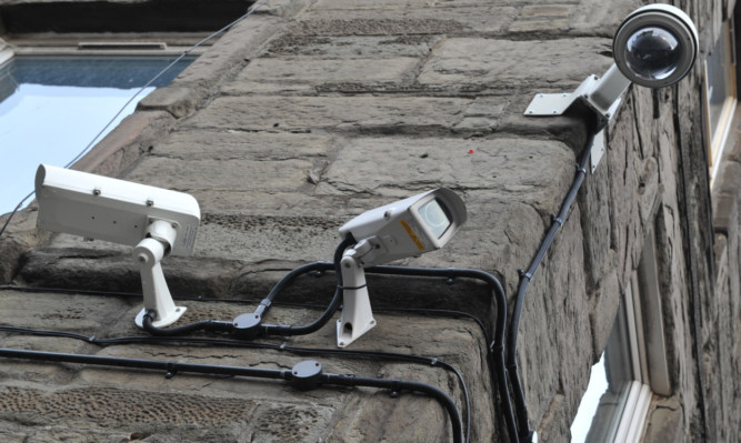 CCTV cameras.