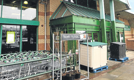 The Homebase store in St Catherine's Retail Park.