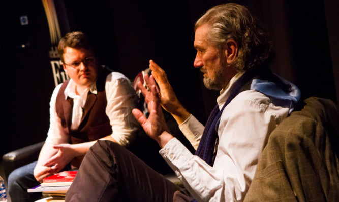 Clive Russell discussed his love of peotry with The Courier's Richard Watt.