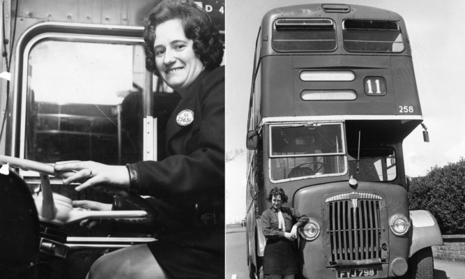 Elizabeth Marnock started on the buses more than 40 years ago.