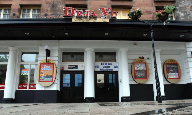 Deja Vu nightclub in the Cowgate.