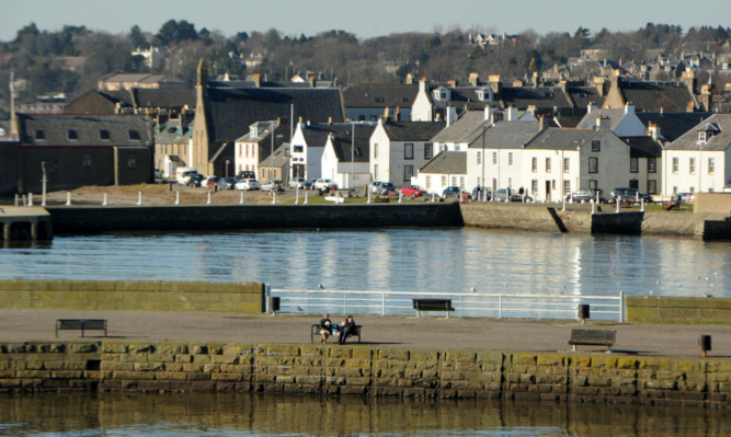 Broughty Ferry's charms are clear to see.