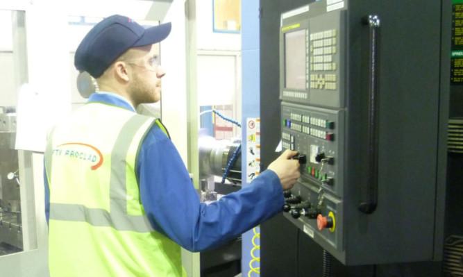 FTV Proclad machine operator Ross Anderson.