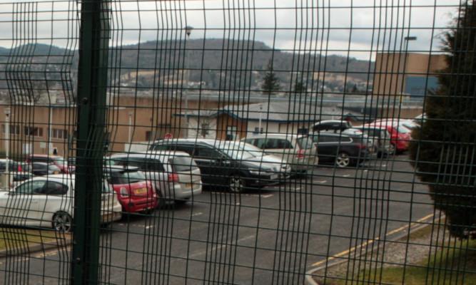 The PRI car park.