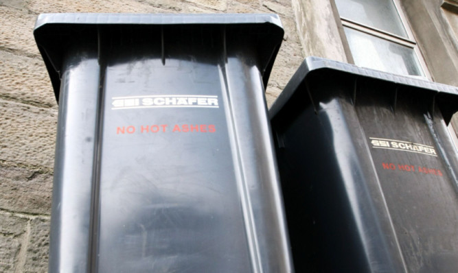 Householders face possible prosecution if they refuse to take their bins in.