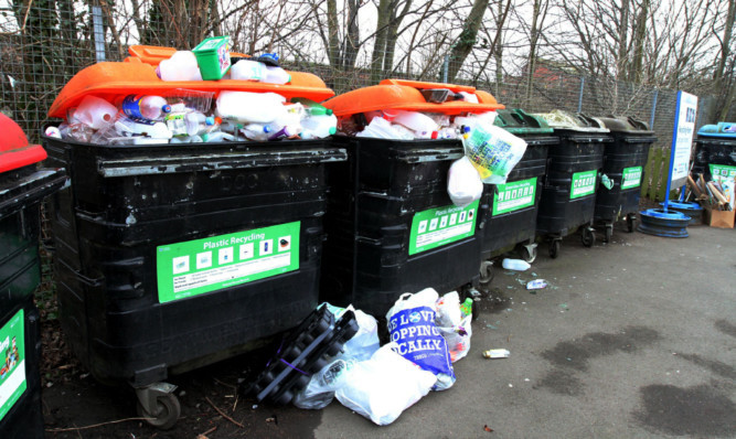 The Roseangle recycling centre has been criticised as an eyesore.