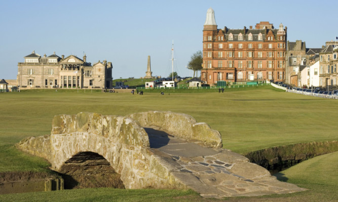 Staying in St Andrews doesn't come cheap.