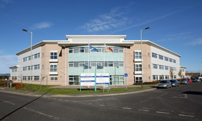 Angus Council headquarters. The local authority is unhappy about the findings of an external audit of how the elderly are looked after in the area.