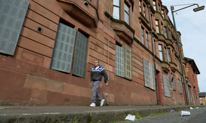 Possilpark in Glasgow is one of the most socially deprived areas of the country.