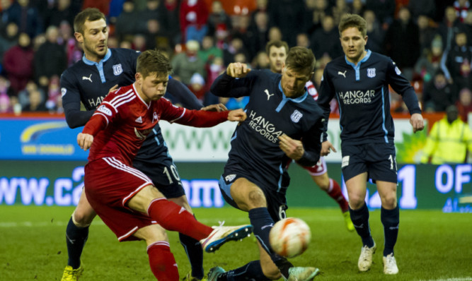 Dundee's match with Aberdeen will be live on BT Sport.