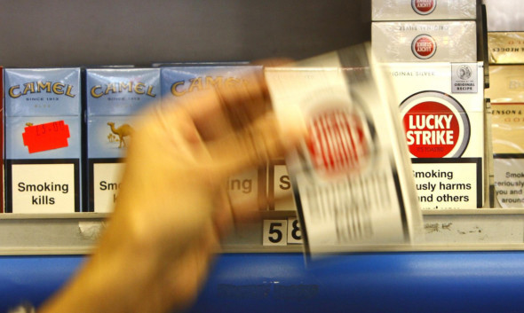 Cigarettes will have to be hidden from public display from April 6.