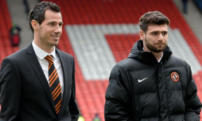 Ryan McGowan (left) and Nadir Ciftci.
